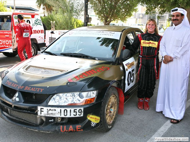 Sheikh Hamad Al Thani - Qatar Nat. Rally 2011