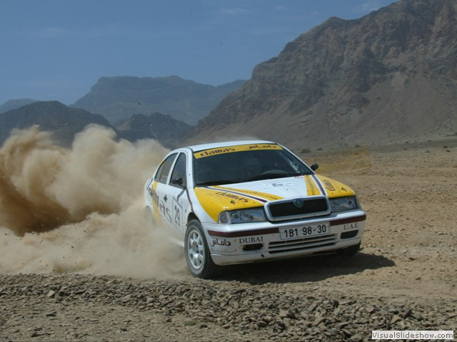 Oman Intl. Rally 2005