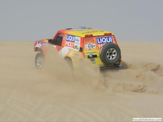 Cross Country World Cup-Qatar Sealine Rally 2013