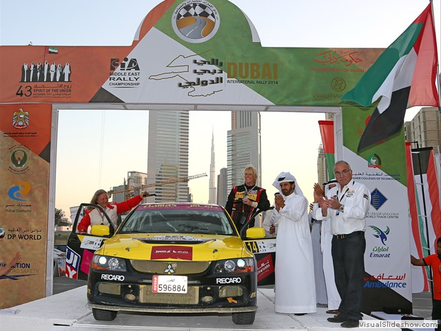 Dubai Intl.Rally 2014