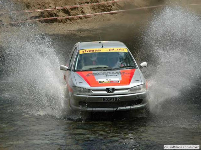 WRC Cyprus 2005 - finished 1st position A/7