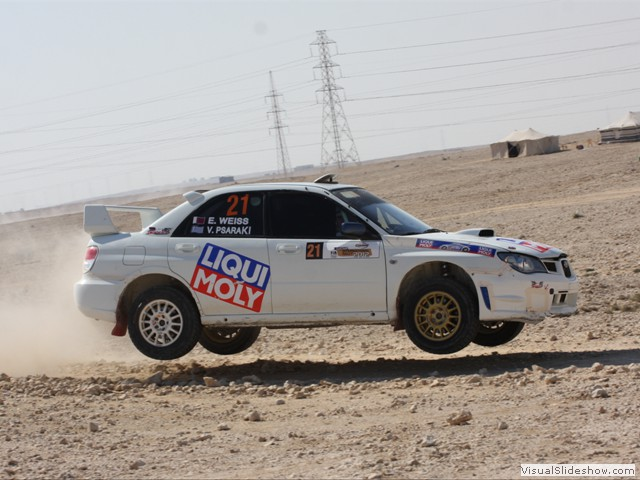 Qatar Intl. Rally 2012
