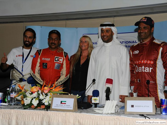 Press Confrence - Kuwait Rally 2015