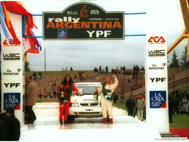 WRC Argentina 2002 - finished 1st position A/7